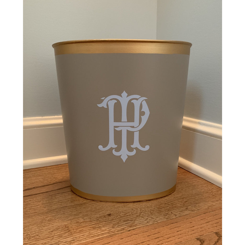 Oval Wastebasket - Assorted Colors