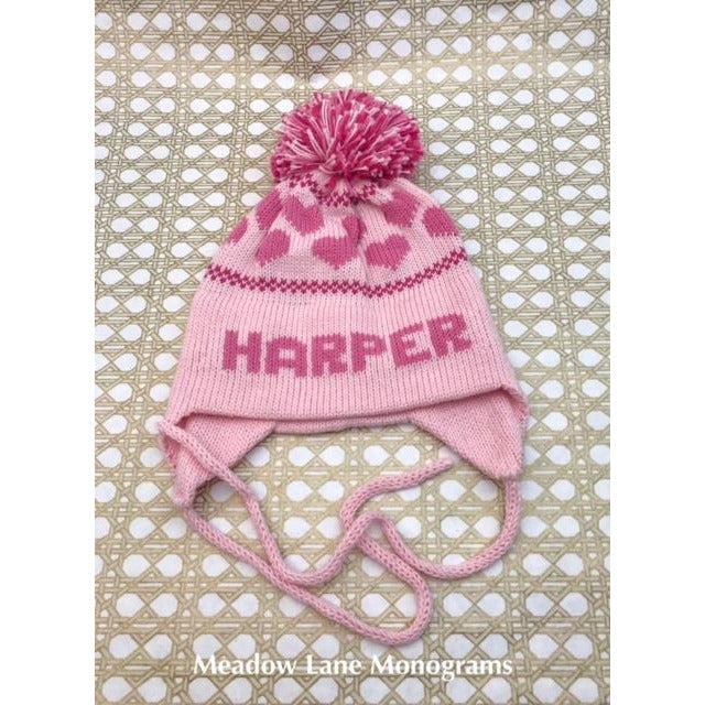 Hearts Knit Hat