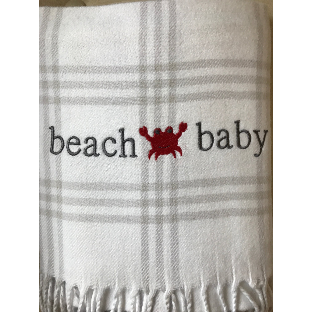 Windowpane Baby Blanket