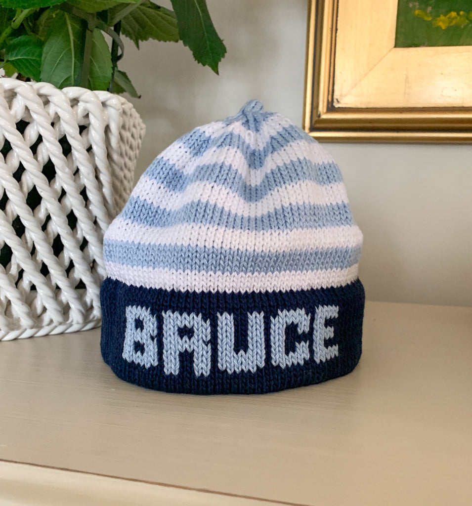 Knitted Name Hat