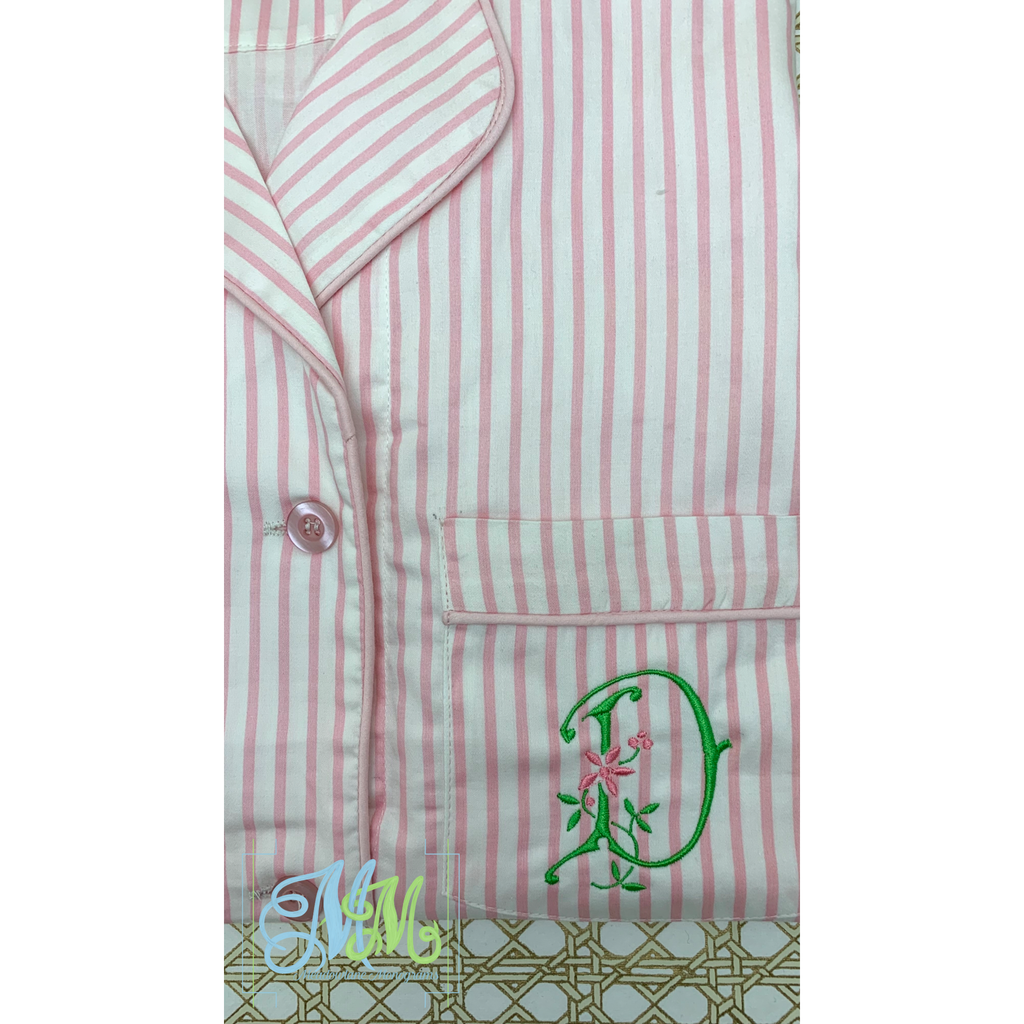 Button Down Sleep Shirt (Assorted Colors)