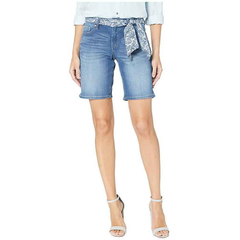 Jag Carter Belted Girlfriend Denim Shorts - Sooz Boutique