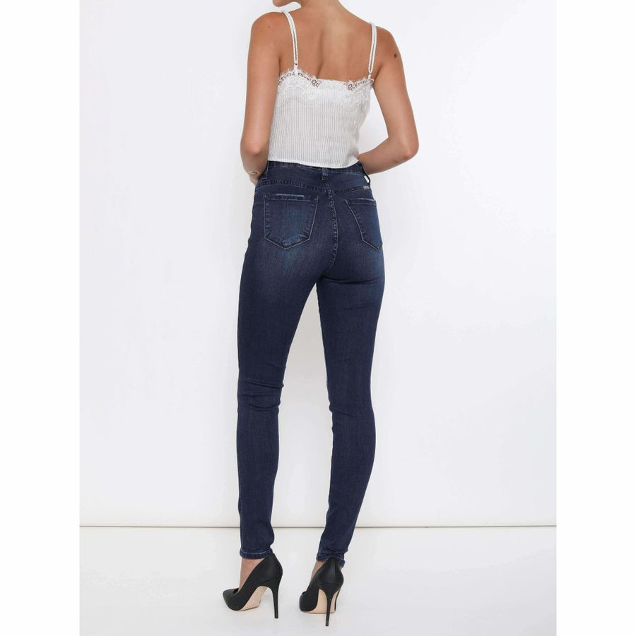 KanCan Darker Washed Denim Jean - Sooz Boutique