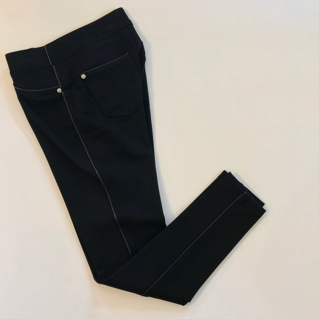 Piped skinny pant