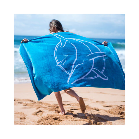 Sea Shepherd Classic Towel Unisex Big Logo 100% Organic Cotton
