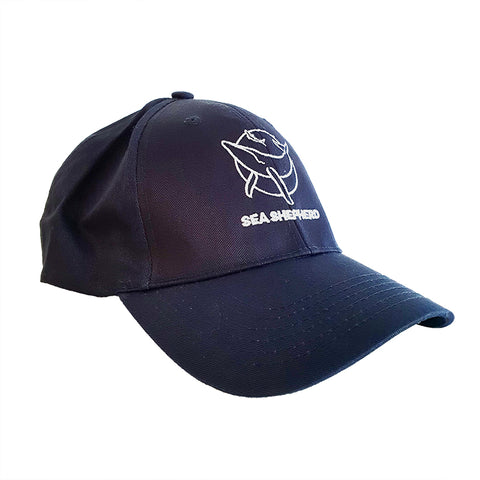 Sea Shepherd Classic 100% Organic Cotton Navy Cap