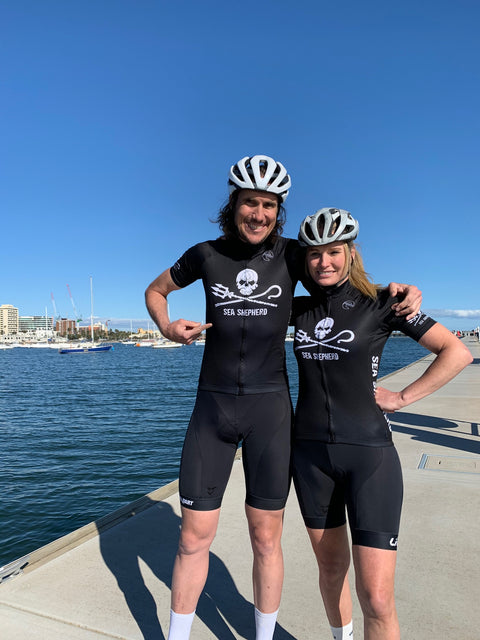 Sea Shepherd Recycled Cycling Jersey