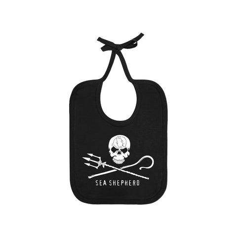 Jolly Roger 100% Organic Cotton Baby Bib