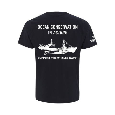 Sea Shepherd Classic  Navy Short Sleeve Tee
