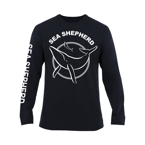 Sea Shepherd Classic 100% Organic Long Sleeve Tee