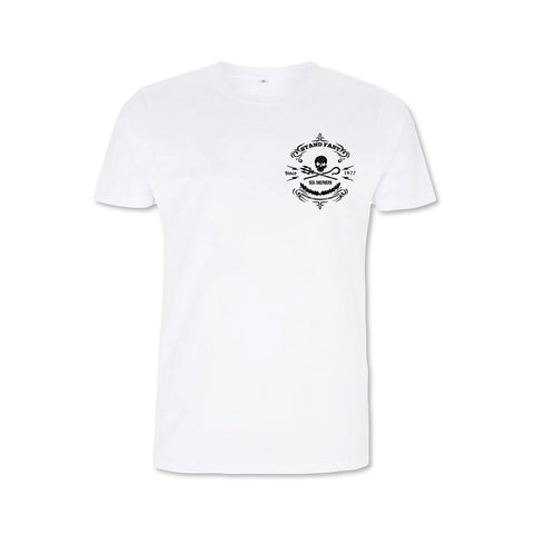 Sea Shepherd Stand Fast - Deep Ocean Sketch 100% Organic Cotton Jersey - White Tee