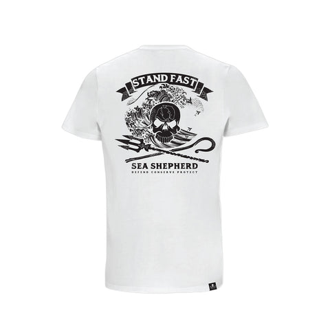 Sea Shepherd Ocean Dream Organic Jersey Tee - White