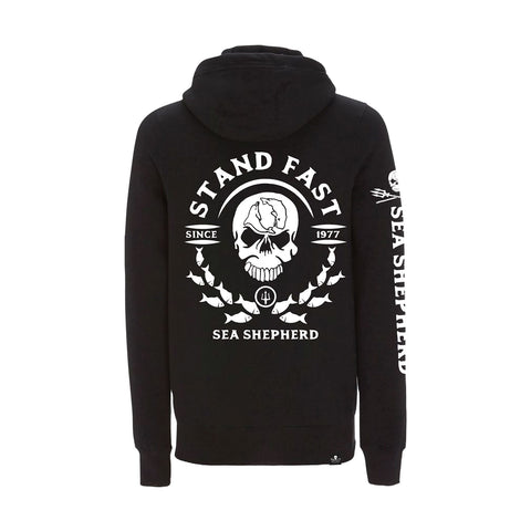 Sea Shepherd Mirror School Pullover Hoody - Black