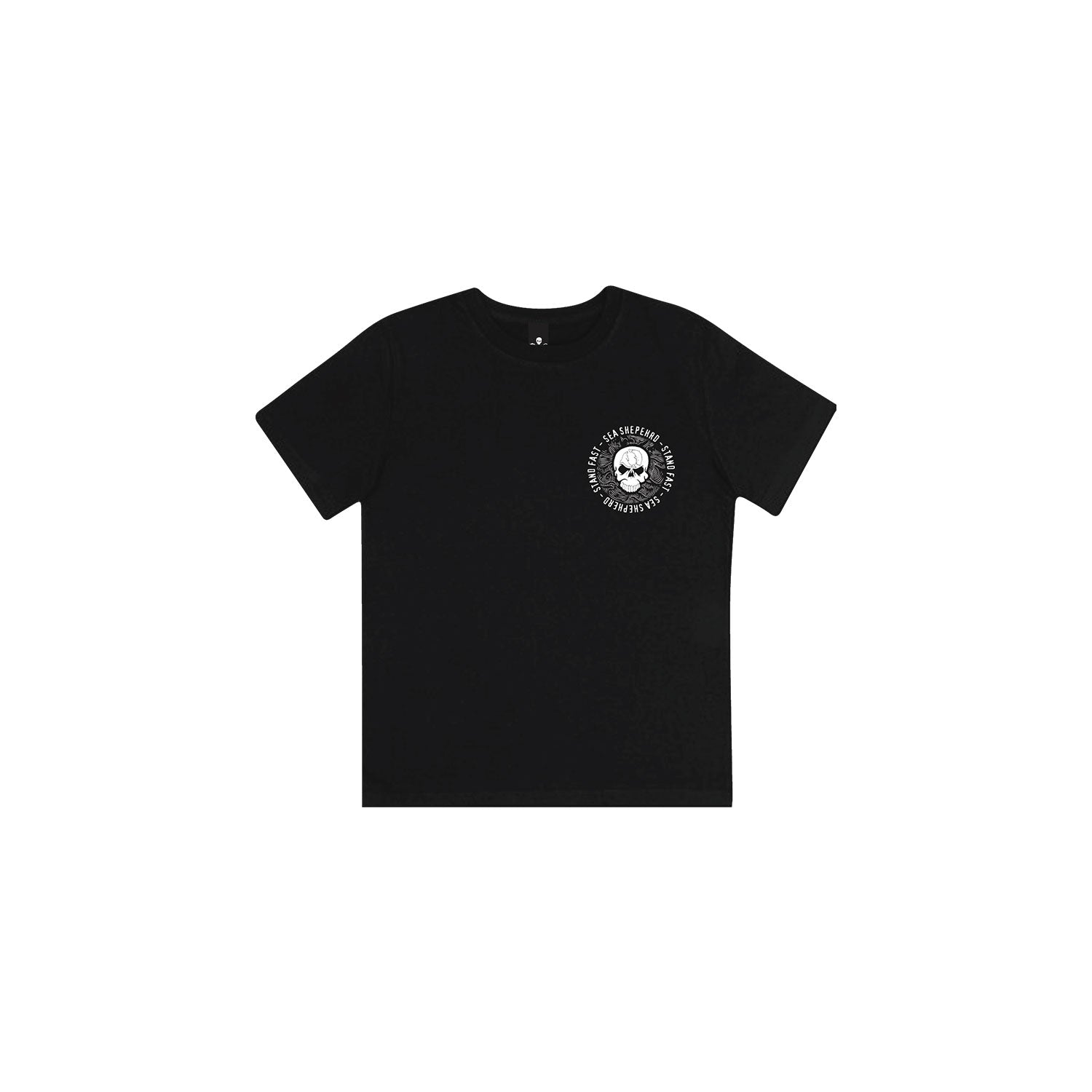 Sea Shepherd Sea Cliff Dreaming Kids Tee - Black