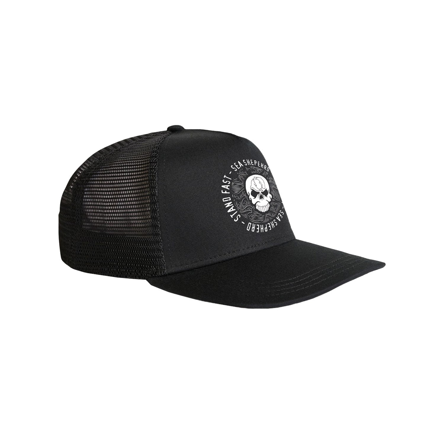 Sea Shepherd Sea Cliff Dreaming Cap - Black