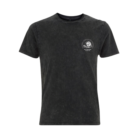 Sea Shepherd - Standfast - Ocean Fantasy - 100% Organic Cotton S/S Tee - Acid Black