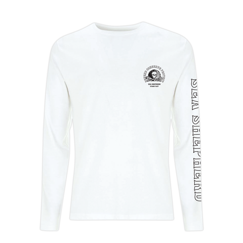 Sea Shepherd - Standfast - Ocean Fantasy - 100% Organic Cotton L/S Tee - White