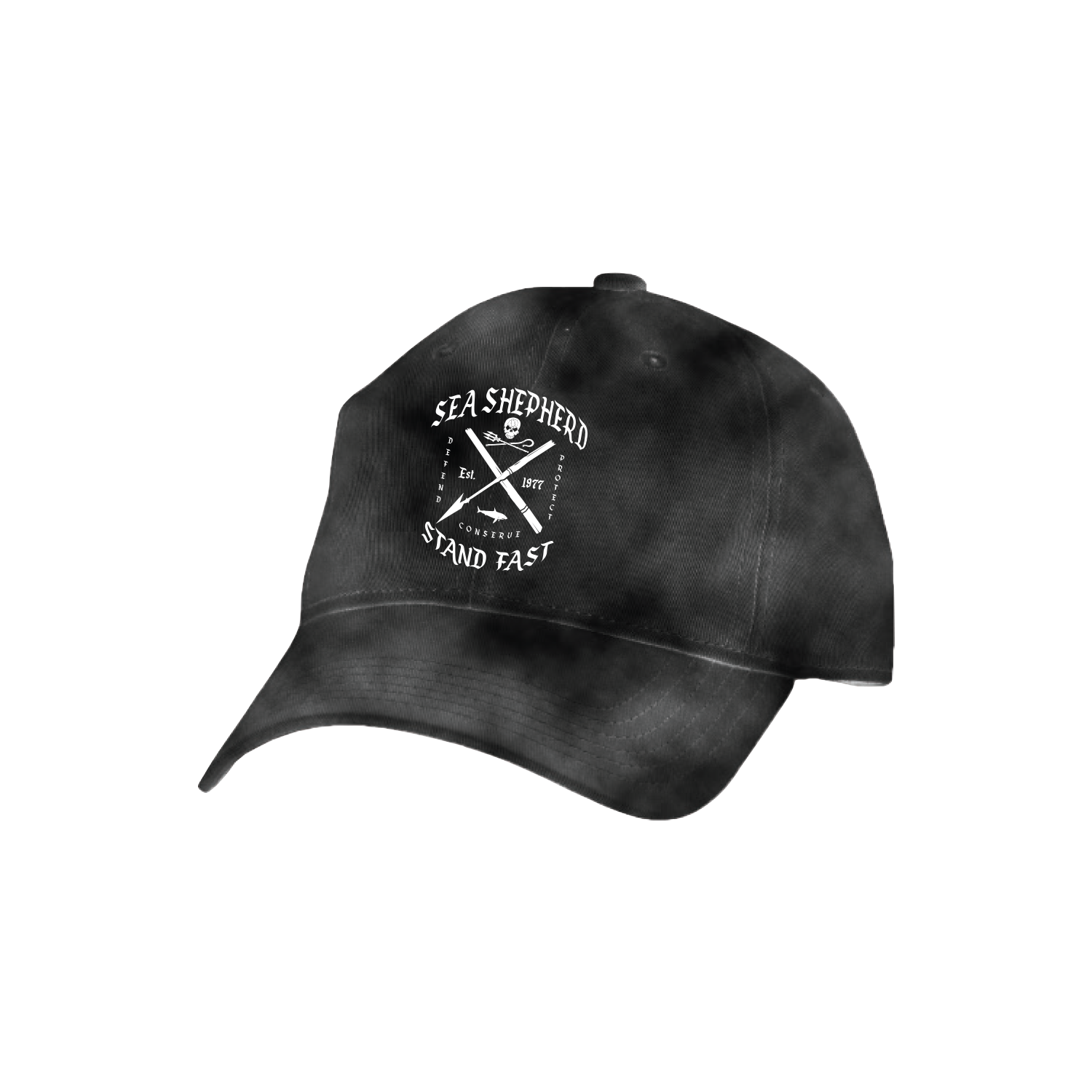 Sea Shepherd - Standfast - Standfast - 100% Organic Cotton Cap - Acid Black