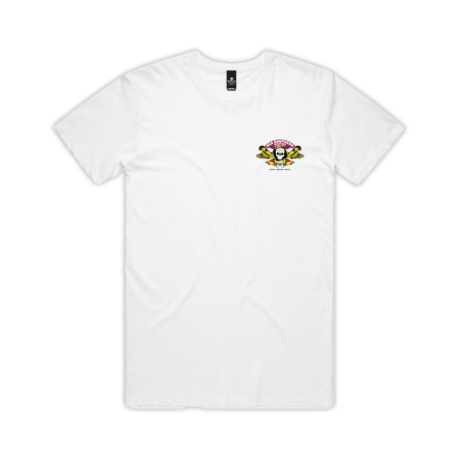 Stand Fast Barrel Wings Unisex Tee - White