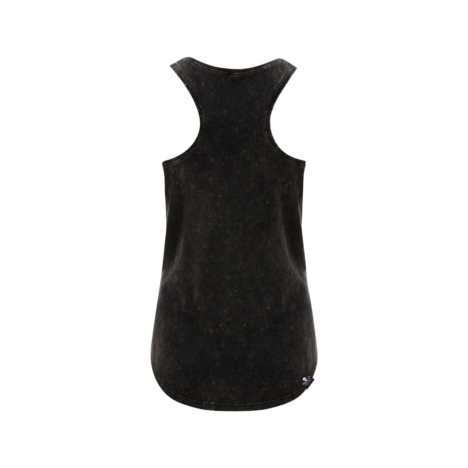 Stand Fast Barrel Wings Ladies Singlet - Acid Black
