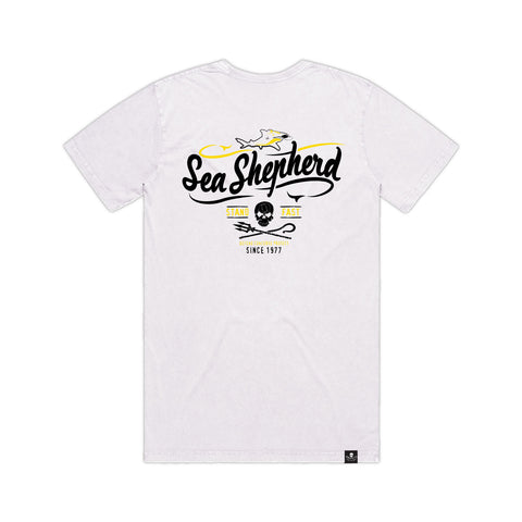 Stand Fast Ocean Travels Unisex Tee - White