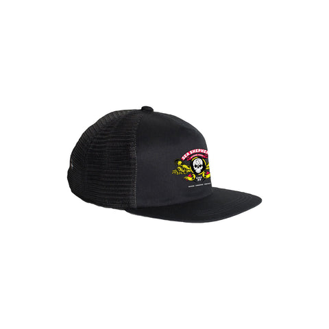 Stand Fast Barrel Wings Trucker Cap - Black