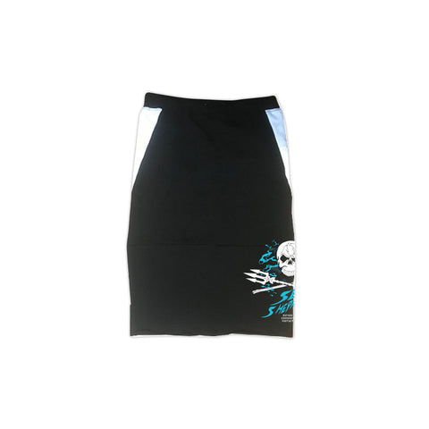 Stand Fast Whale Sanctuary Forever Ladies Skirt - Black
