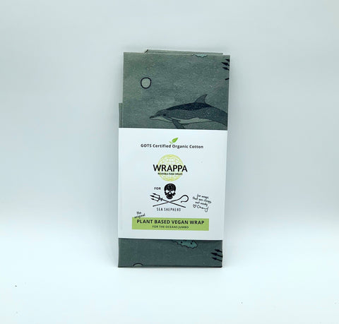 Sea Shepherd X WRAPPA Reusable Food Wraps - 1 x Jumbo