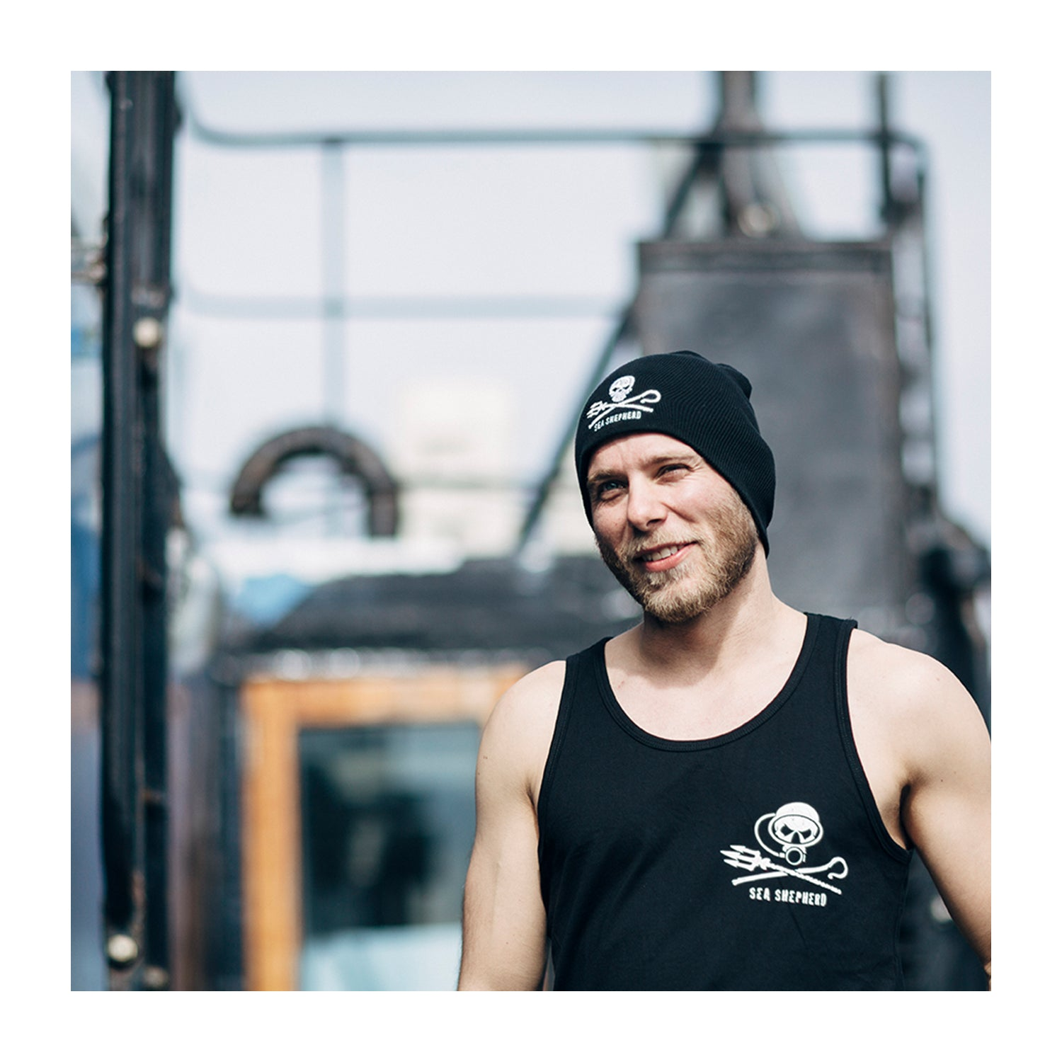 Sea Shepherd Dive Unisex Singlet