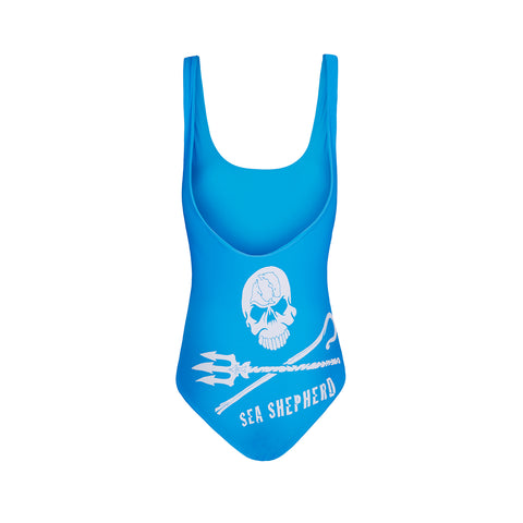 Jolly Roger Women's One Piece - Blue