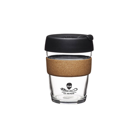 Jolly Roger Glass & Cork Keep Cup - Medium 12oz