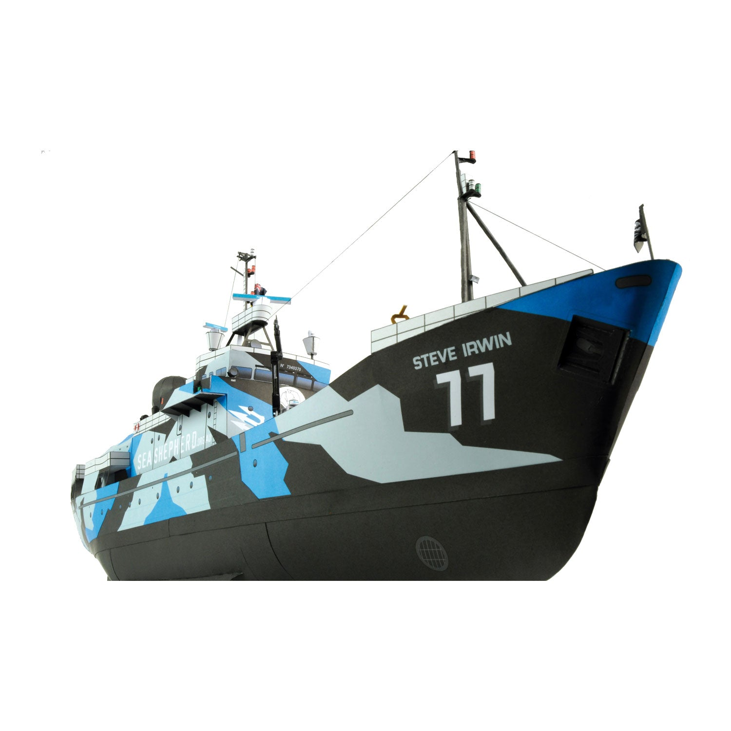 MV Steve Irwin Model