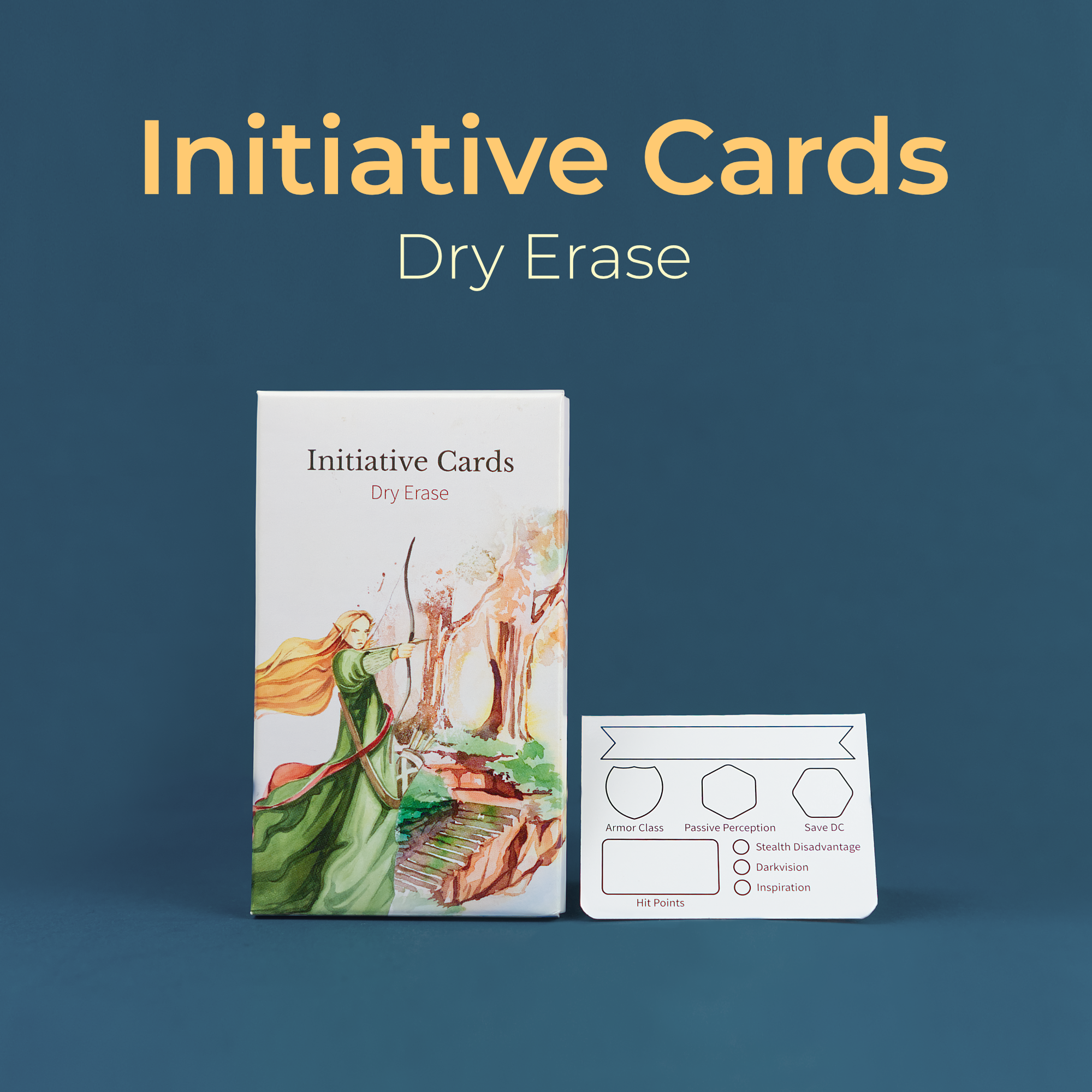Dry Erase Initiative Cards