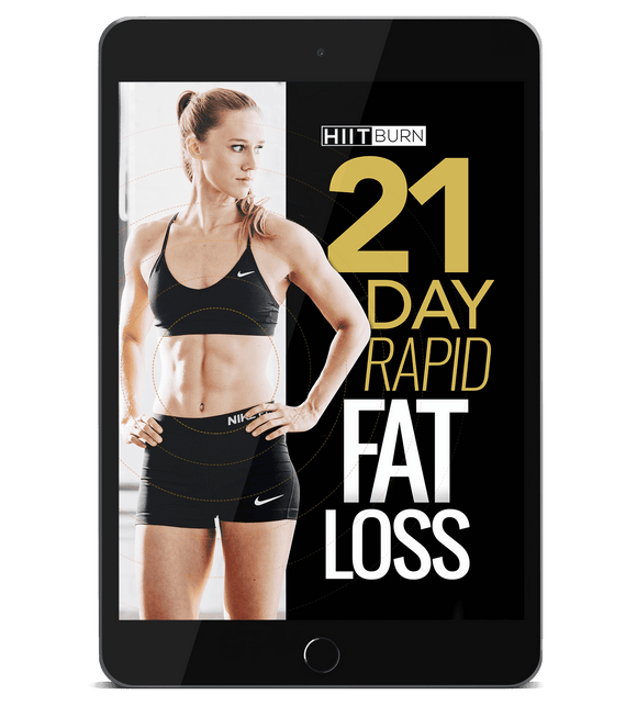 21-Day Rapid Fat Loss (BEST SELLER) - HIITBURN