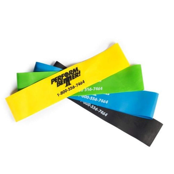Perform Better Professional Light Exercise Mini XL Band (10 Pack) - HIITBURN