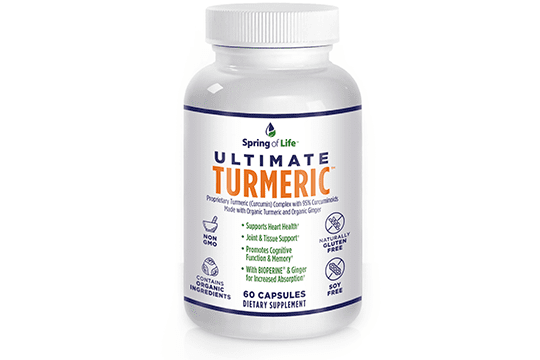 Spring of Life Ultimate Turmeric - HIITBURN