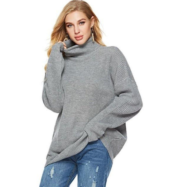 Womens Turtle Neck Sweaters
