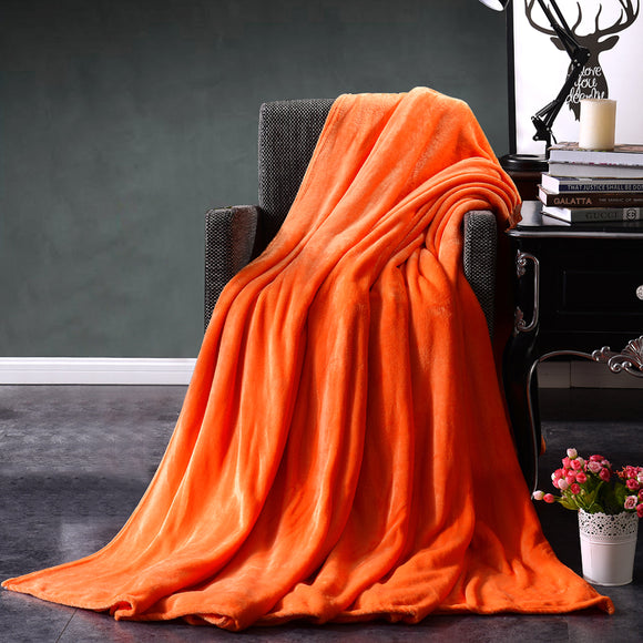 Luxury Quality Brilliant Colors Fleece Blanket