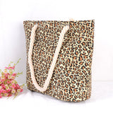 Casual Leopard Shoulder Bag