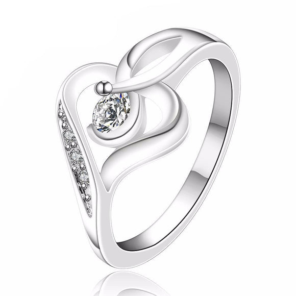 Stylish Women's Heart Shaped Ring