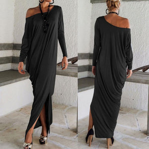 New Sexy Women's Off Shoulder Maxi Dresses