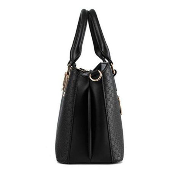 Classic Solid Color Tote Bag