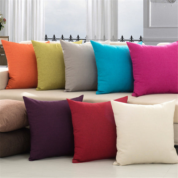 Colorful Decorative Throw Pillow With Or Without Filling