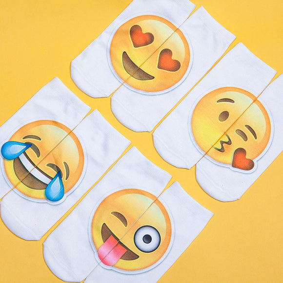 Top Quality Emoji Pattern Socks