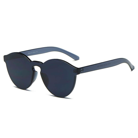 FARGO | S2005 - Hipster Translucent Unisex Monochromatic Candy Colorful Lenses Sunglasses
