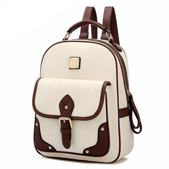 High Quality Fashion Women's Preppy Backpack