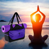 Stylish Yoga Gym Bag (Mat Not Included)