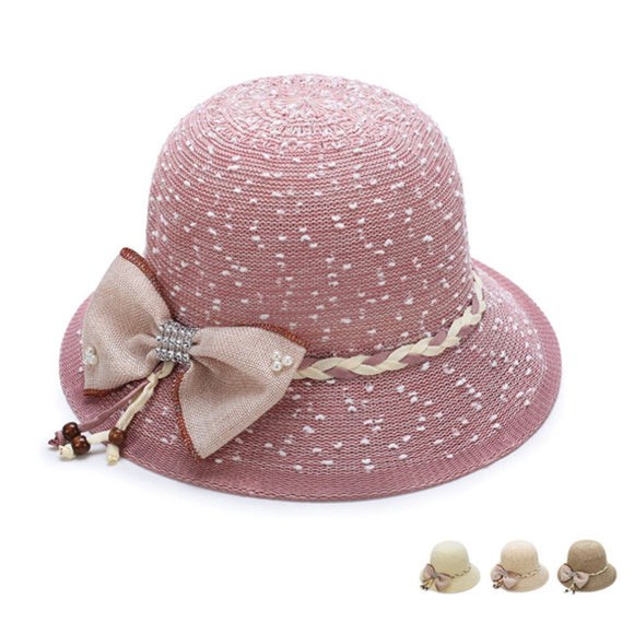 Women's Comfortable Bowknot Sun Hat