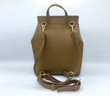Livia Stylish Backpack - Tan