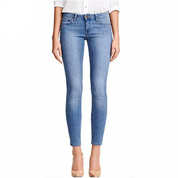 Classic Style Stretch Skinny Jeans
